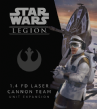 Star Wars : Legion – 1.4 FD Laser Cannon Team Unit Expansion